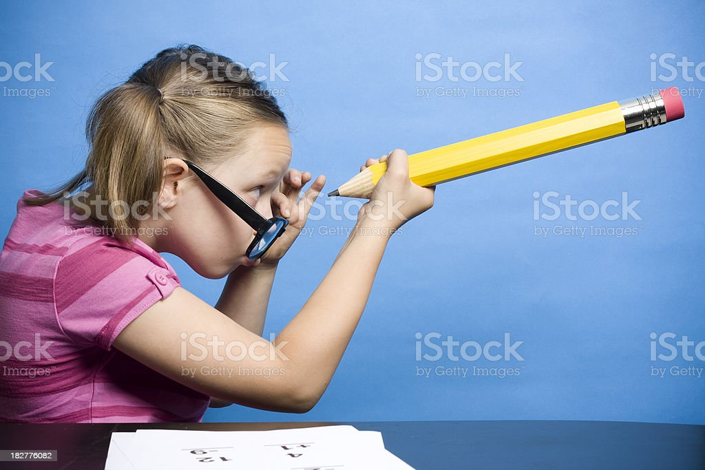 Looking For Answers stock photo