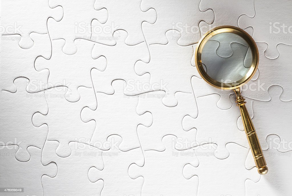 Looking for answers royalty-free stock photo