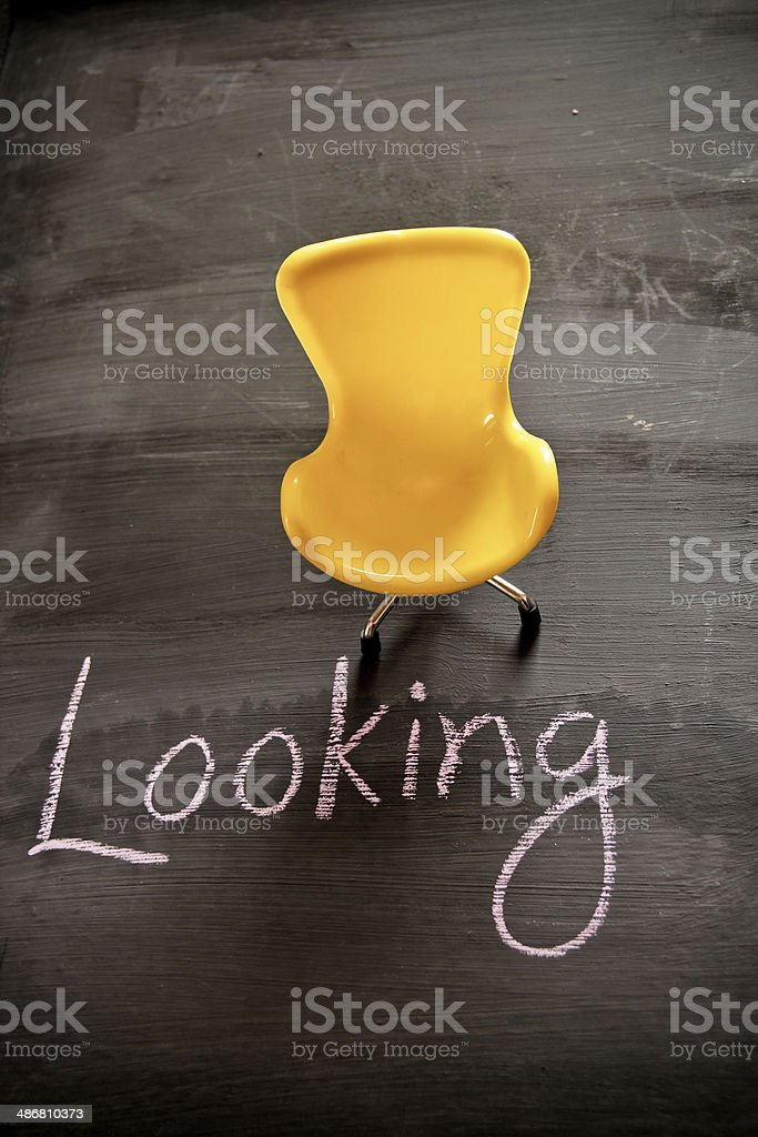 Looking for employment opportunity royalty-free stock photo