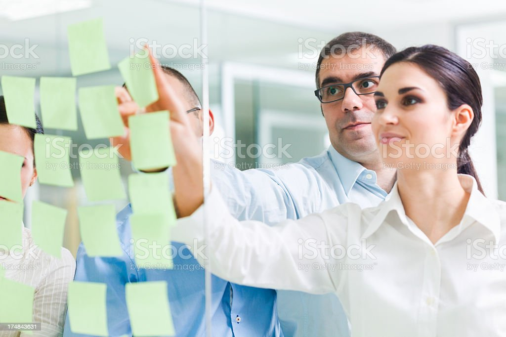 Looking for ideas royalty-free stock photo