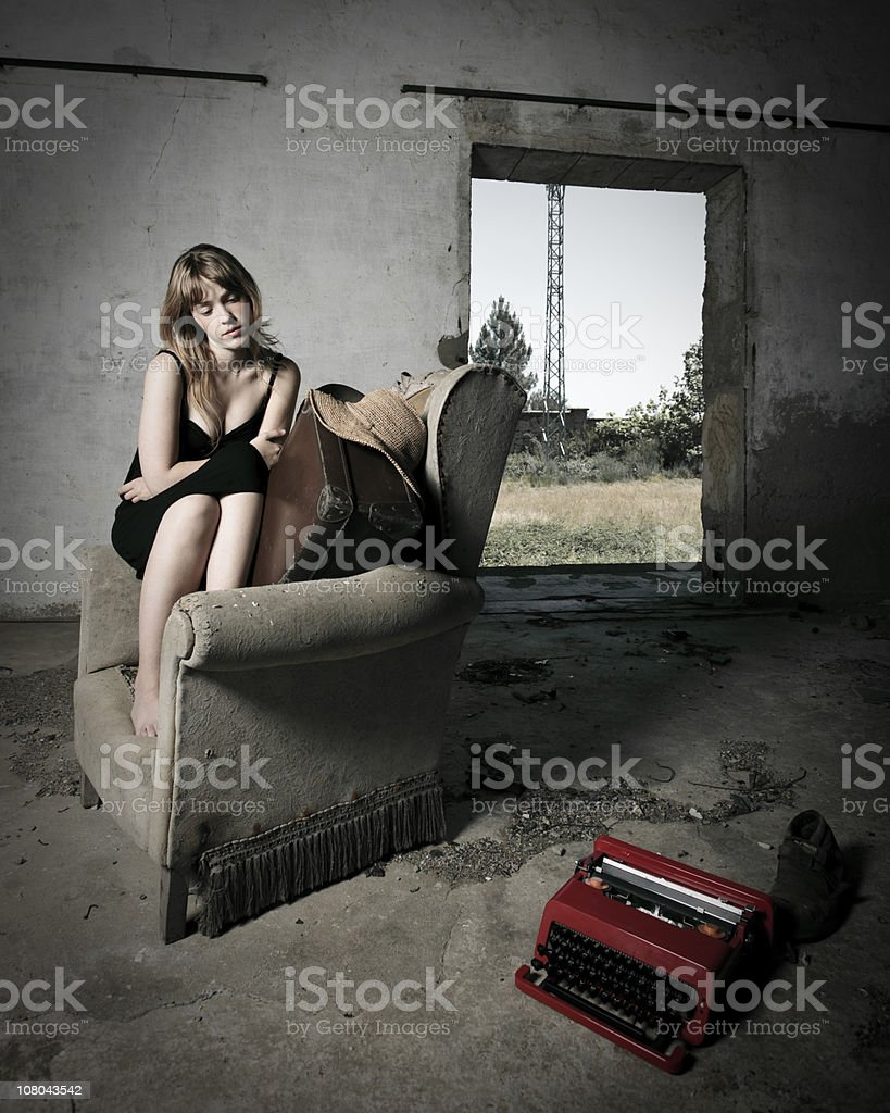 Looking for inspiration. royalty-free stock photo