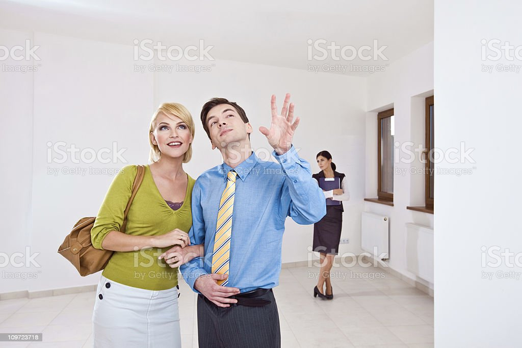 Looking for new flat royalty-free stock photo