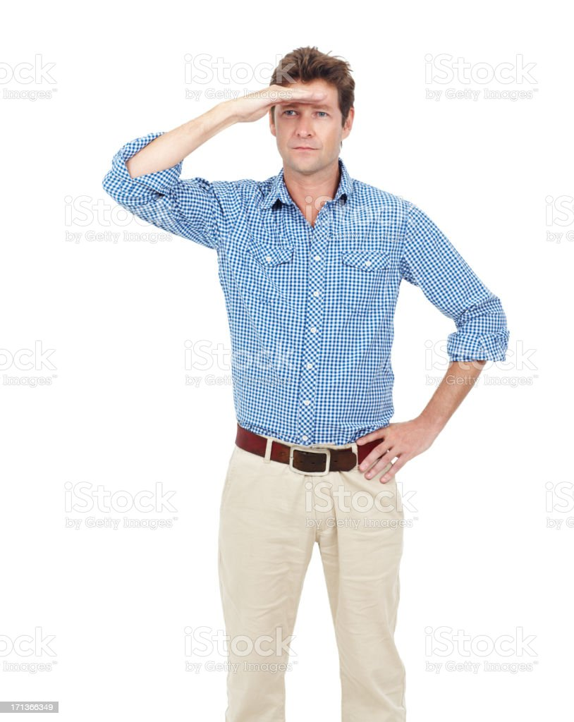 Looking for new opportunities stock photo