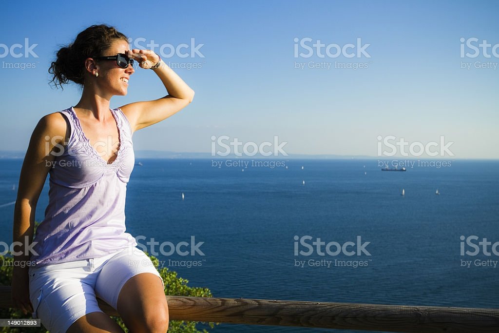looking for.... stock photo