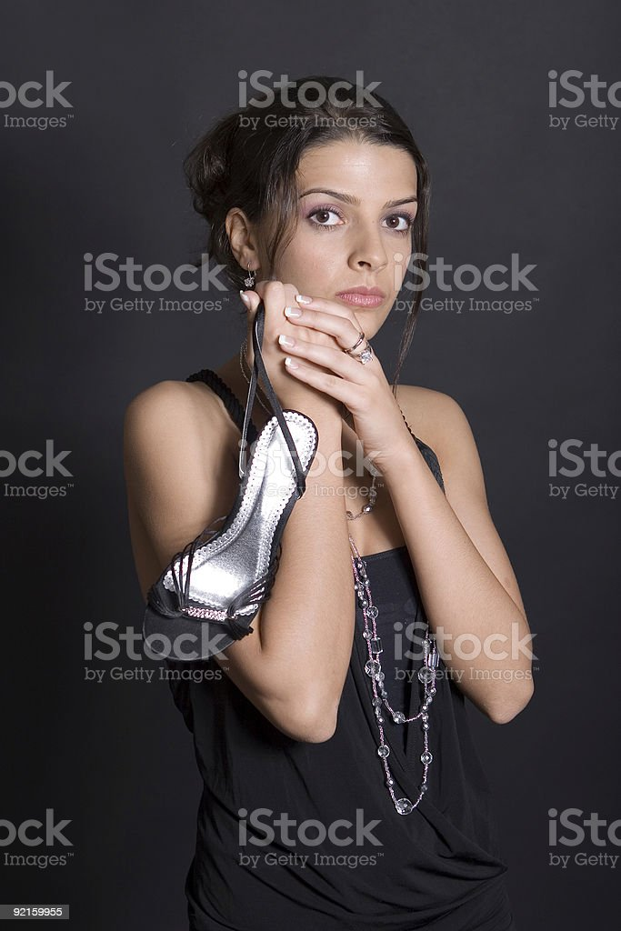Looking for Prince Charming royalty-free stock photo