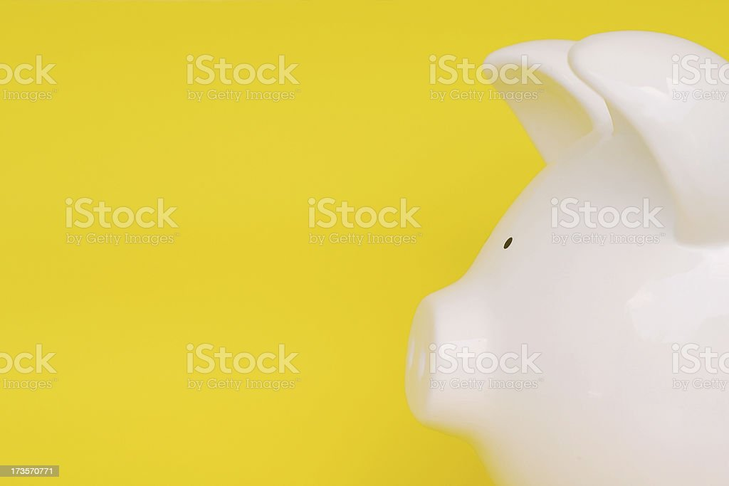Looking for savings royalty-free stock photo