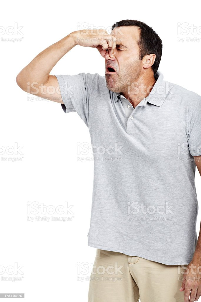 Looking for some fresh air stock photo