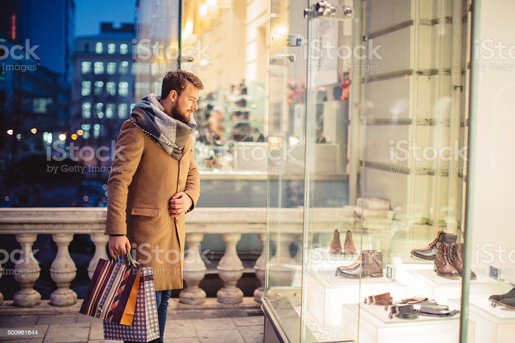 Looking for some gifts stock photo