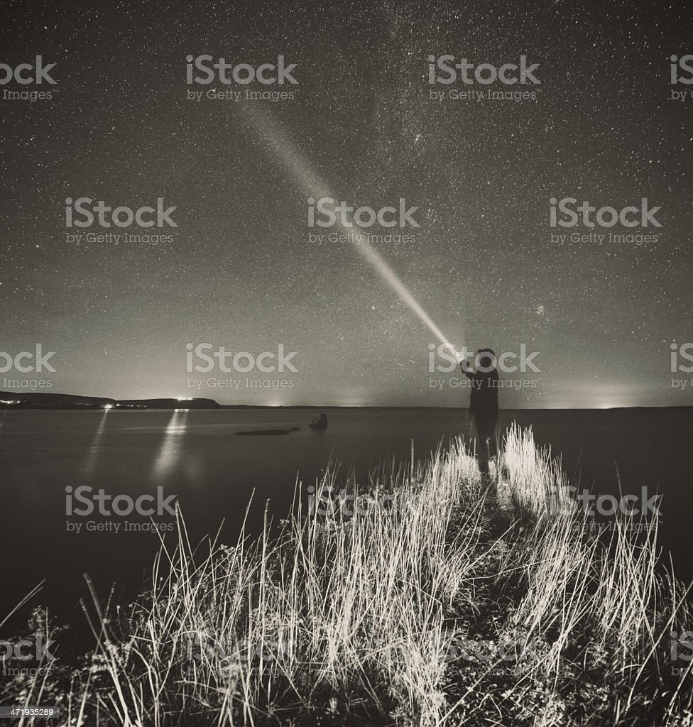 Looking for the Axis royalty-free stock photo