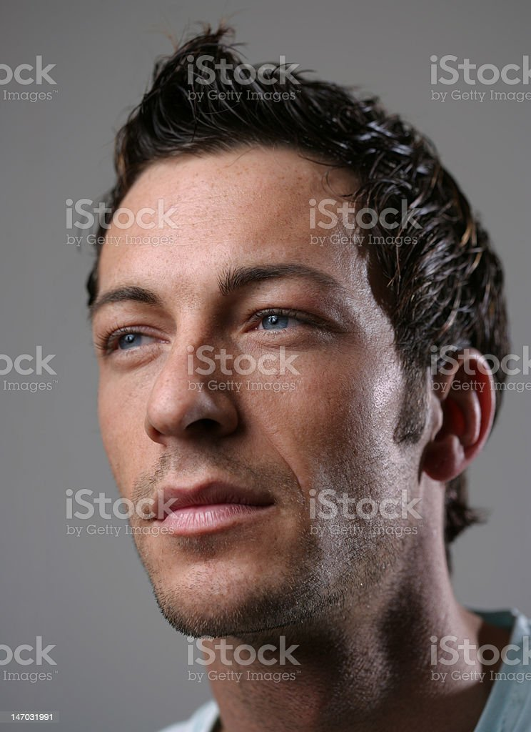 looking forward royalty-free stock photo
