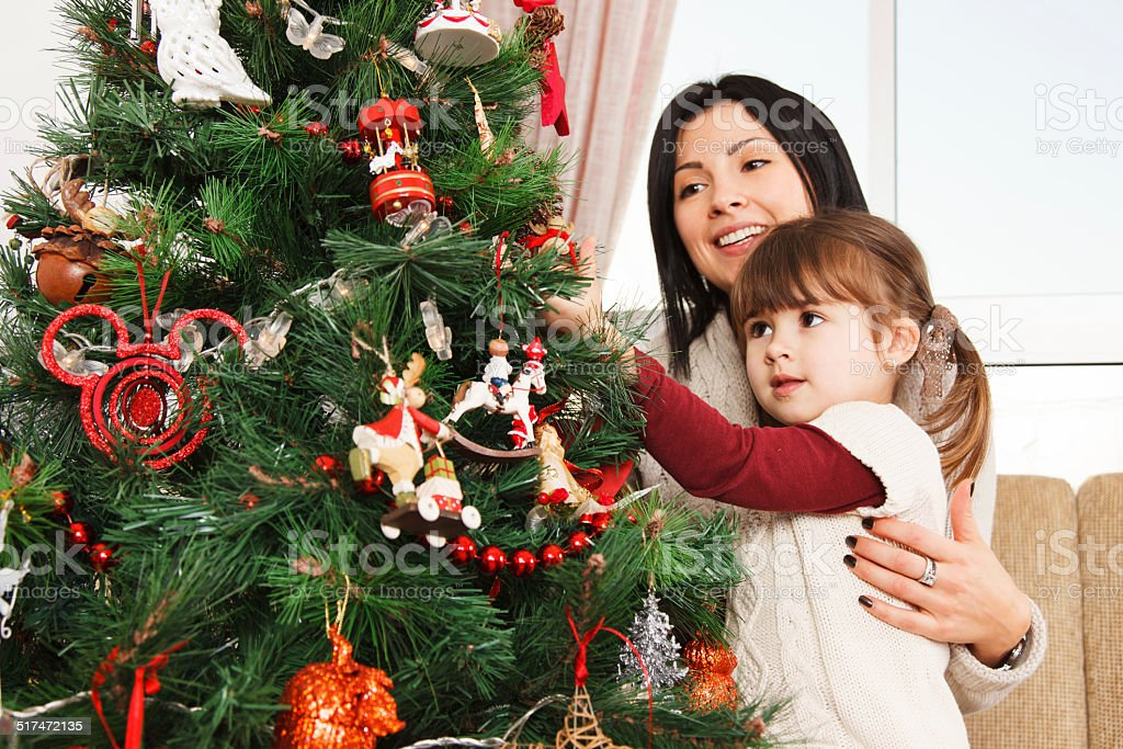 Looking forward to Christmas - Stock Image stock photo