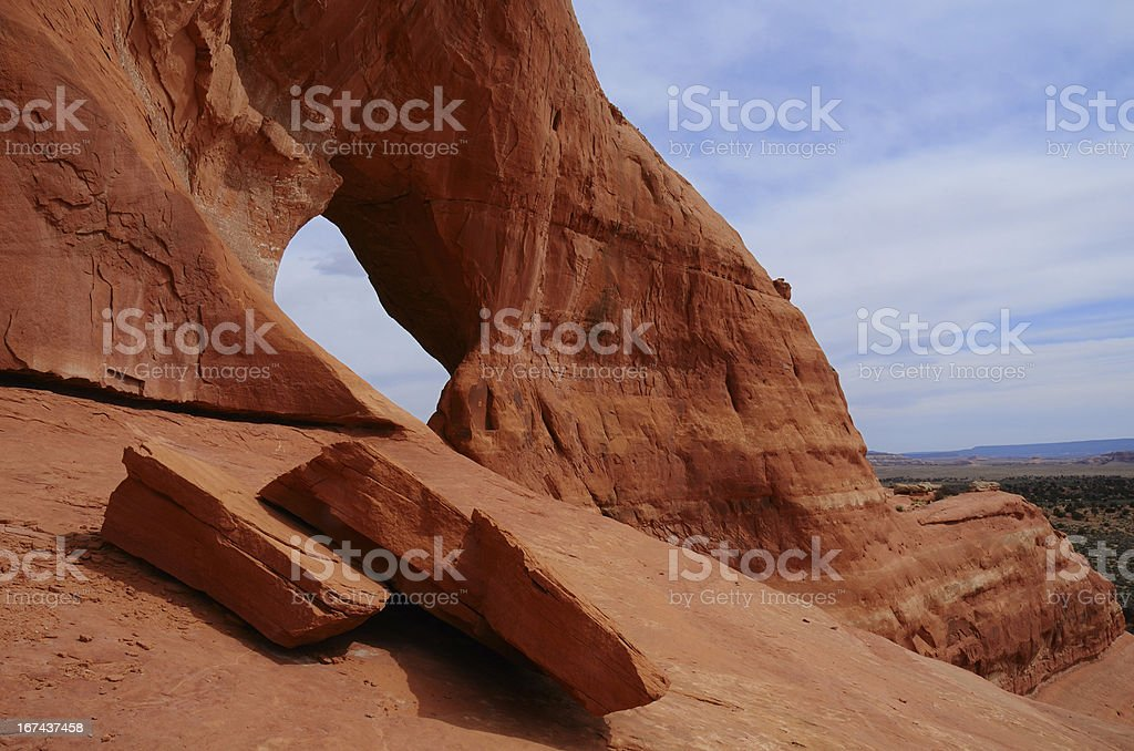 Looking Glass Arch royalty-free stock photo