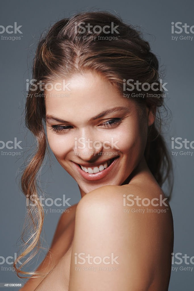Looking good, feeling great! stock photo