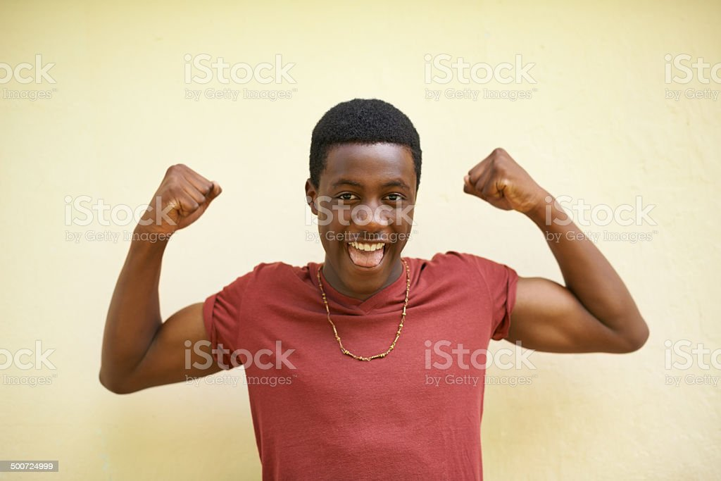 Looking good. Oh yeah! stock photo