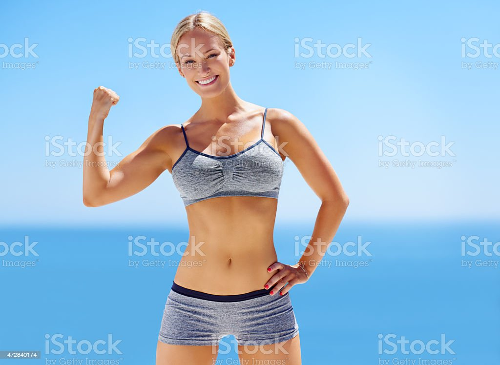 Looking good! stock photo