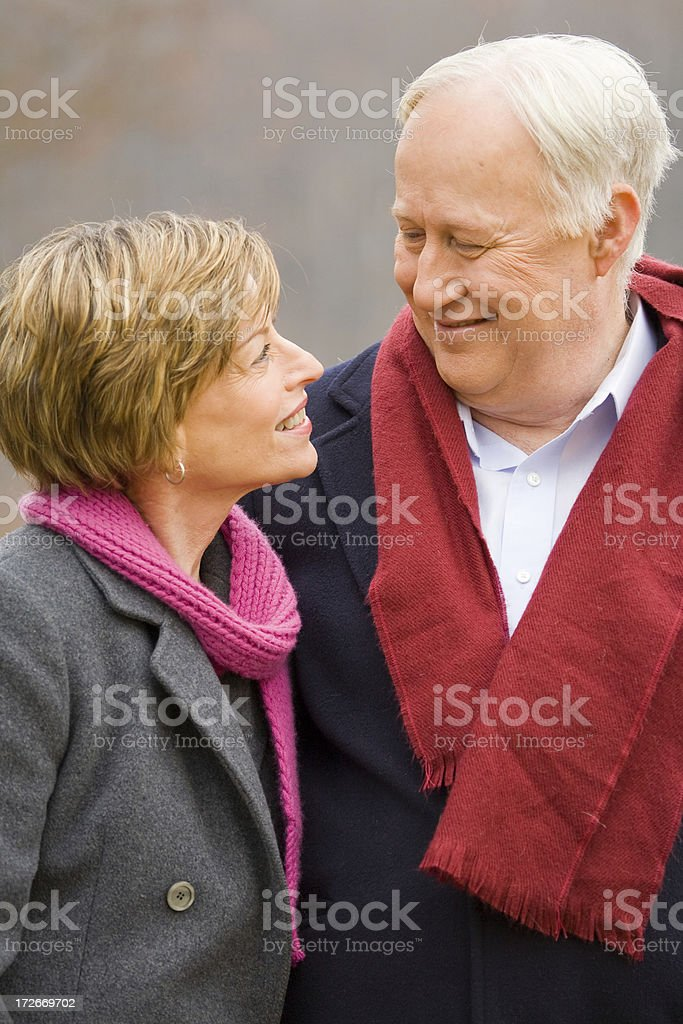 Looking in her eyes royalty-free stock photo