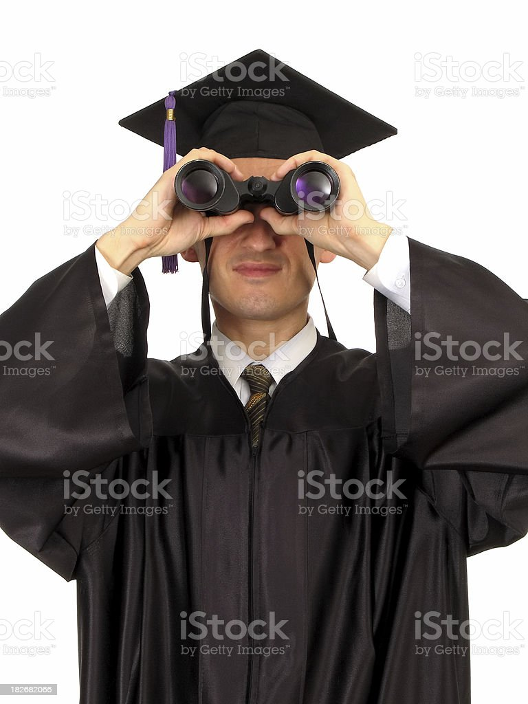 Looking Into The Future III royalty-free stock photo