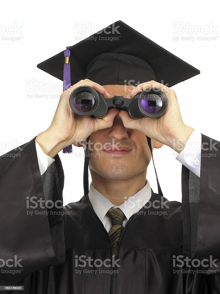 Looking Into The Future IV royalty-free stock photo