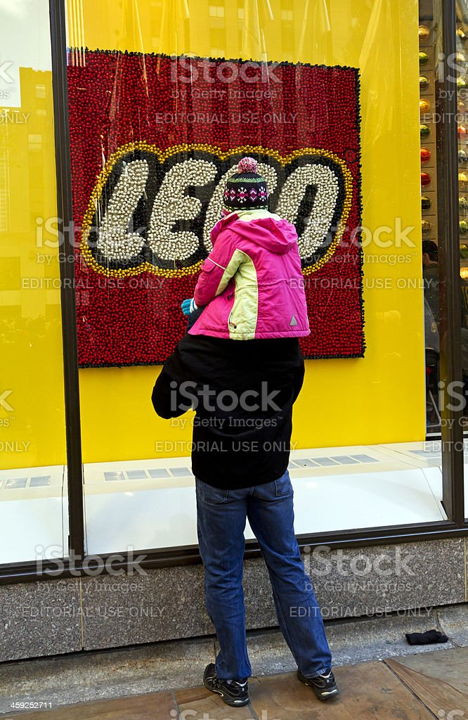Looking Lego logo # 1 XXL royalty-free stock photo