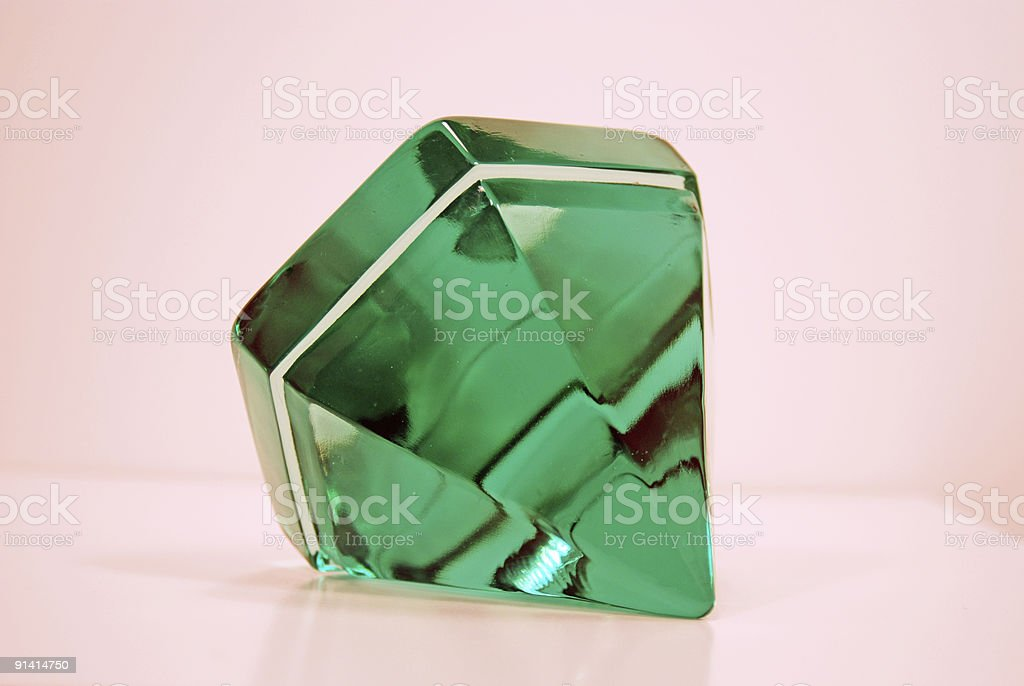 Looking Like an Emerald royalty-free stock photo