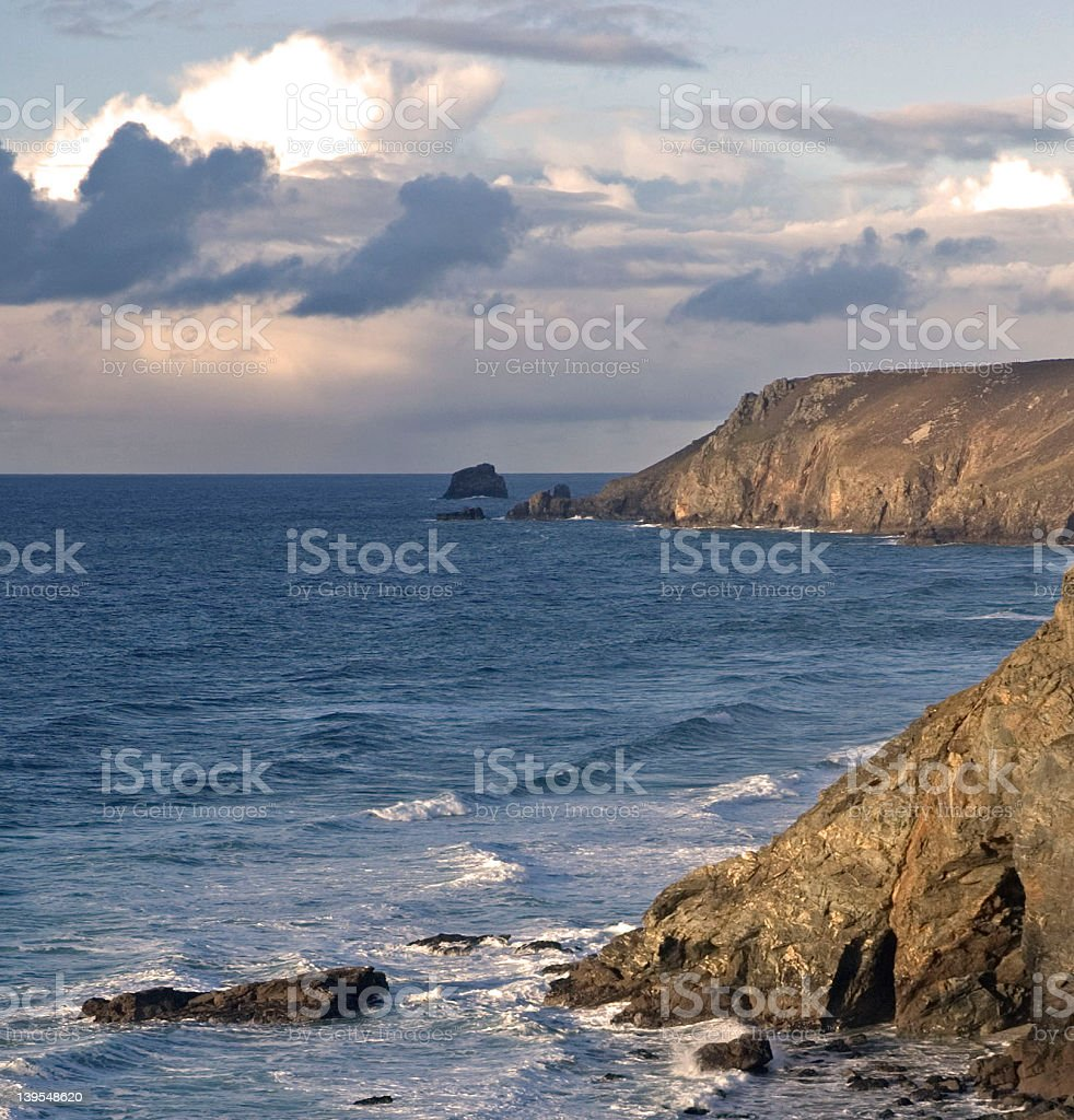 Looking north west royalty-free stock photo