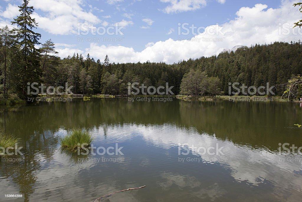 外で Moserer 湖を参照してください。 ロイヤリティフリーストックフォト