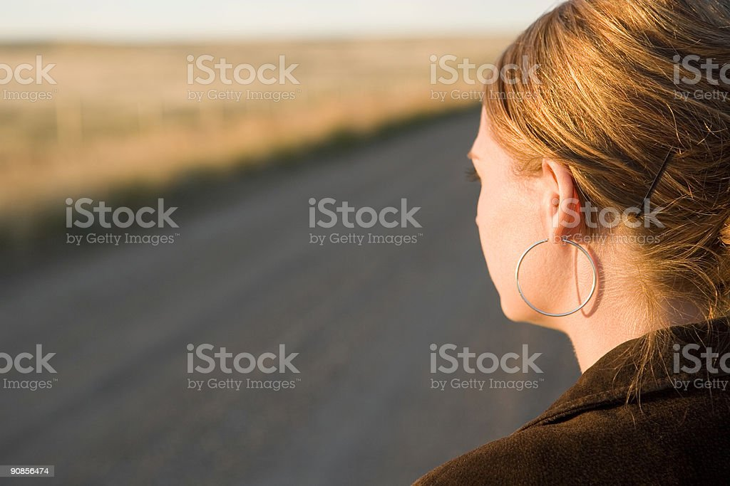 Looking Out ! royalty-free stock photo