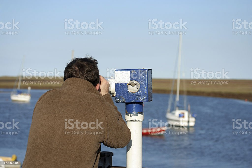 Looking out to Sea royalty-free stock photo