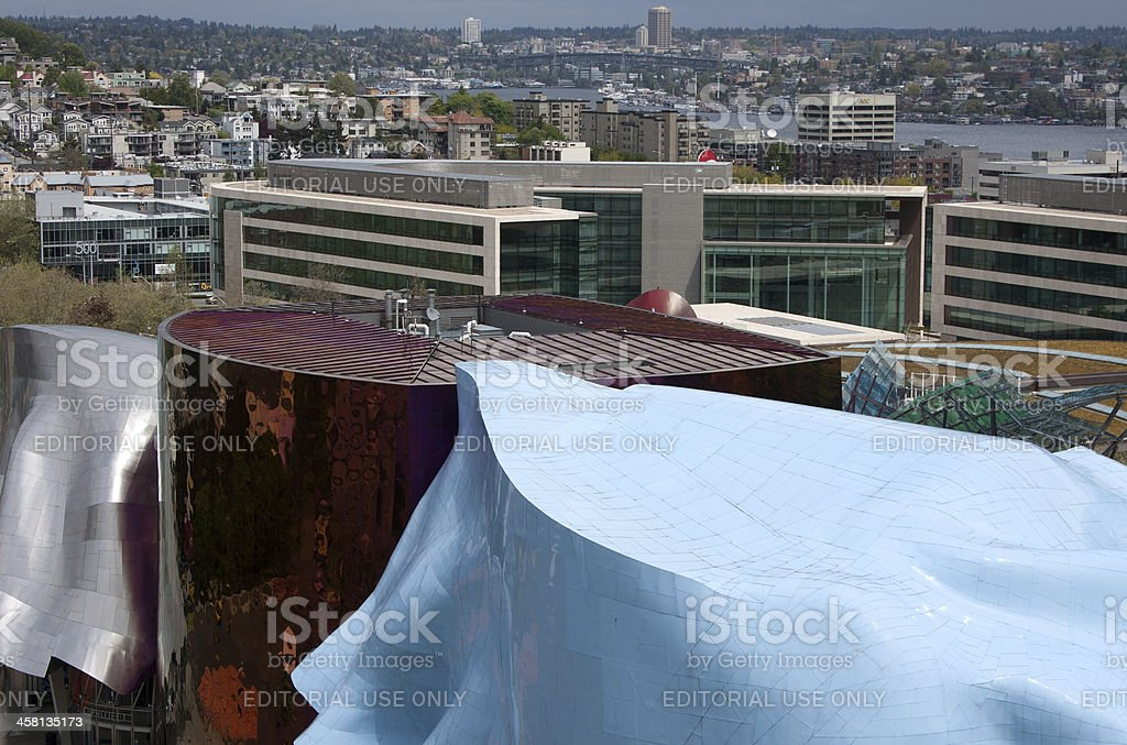 Looking over the EMP stock photo