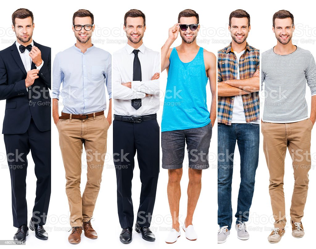 Looking perfect in any style. stock photo