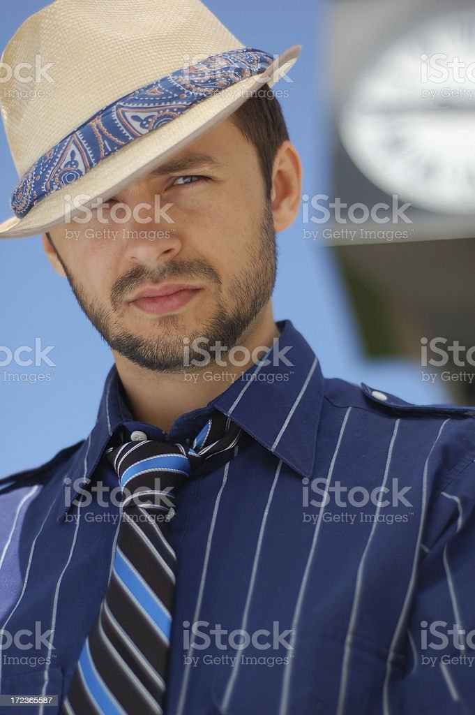 Looking #3 royalty-free stock photo