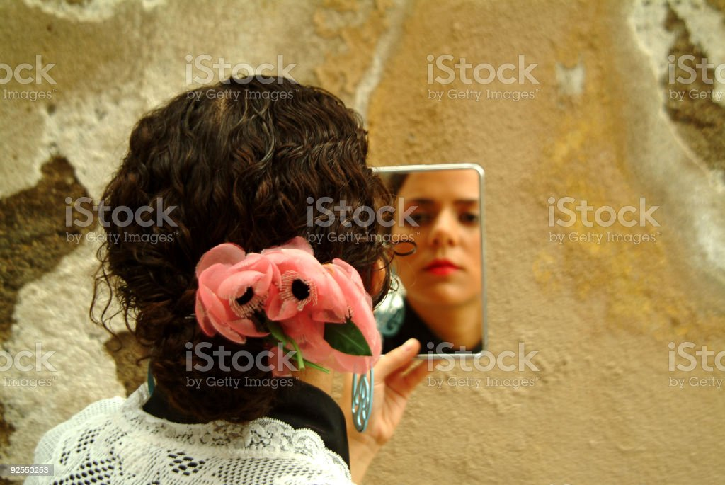 Looking spanish royalty-free stock photo