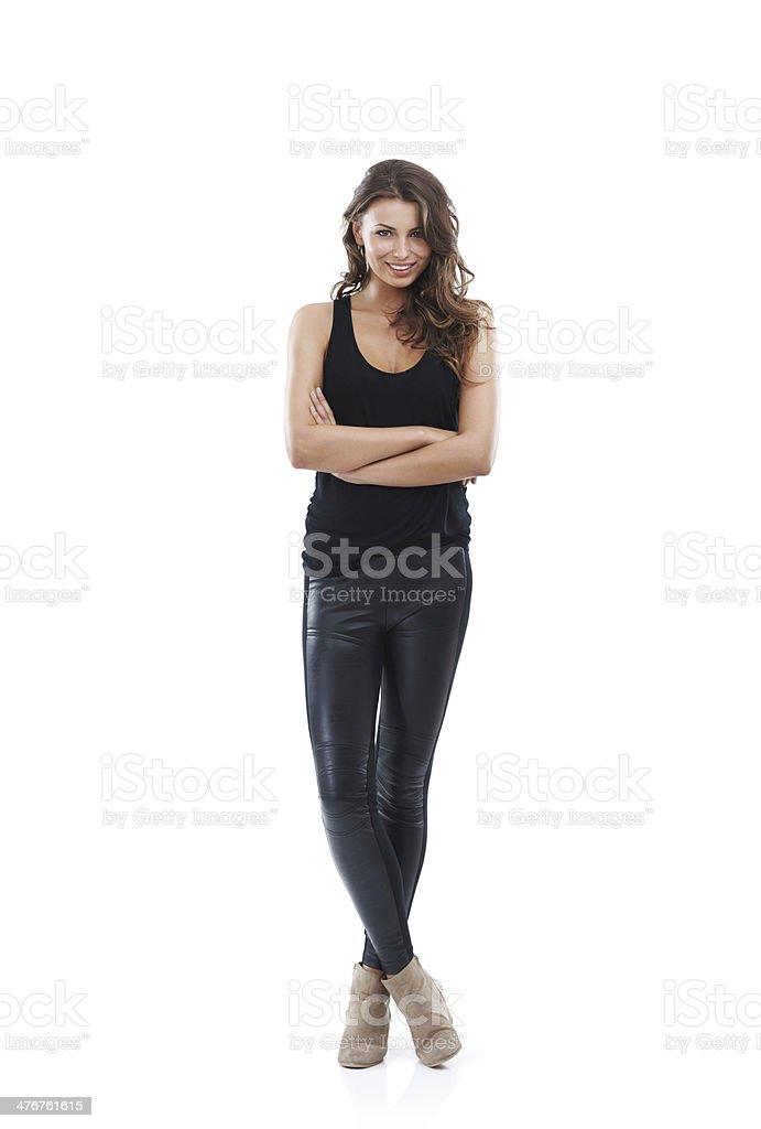 Looking stylish royalty-free stock photo