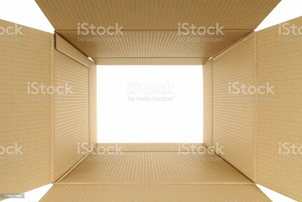Looking through royalty-free stock photo