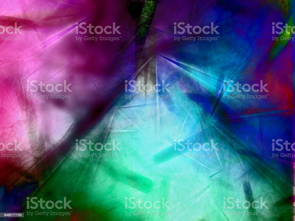 Looking through tissue paper stock photo