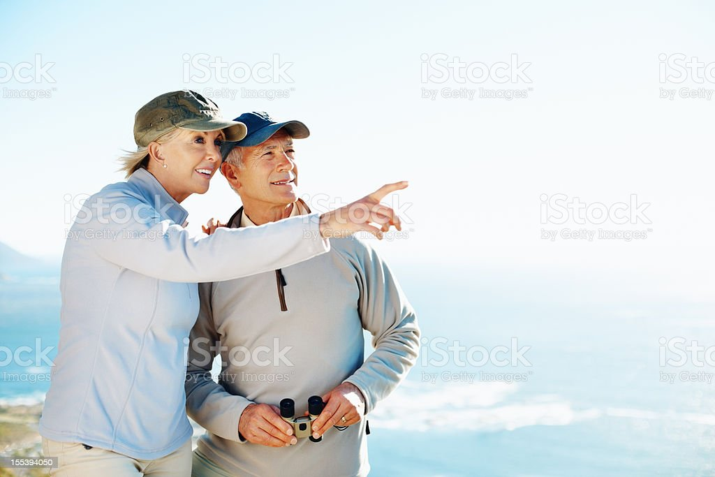 Looking to distant horizons royalty-free stock photo