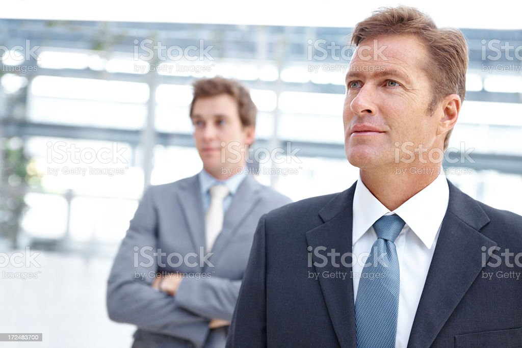 Looking to the future - Business Aspirations royalty-free stock photo
