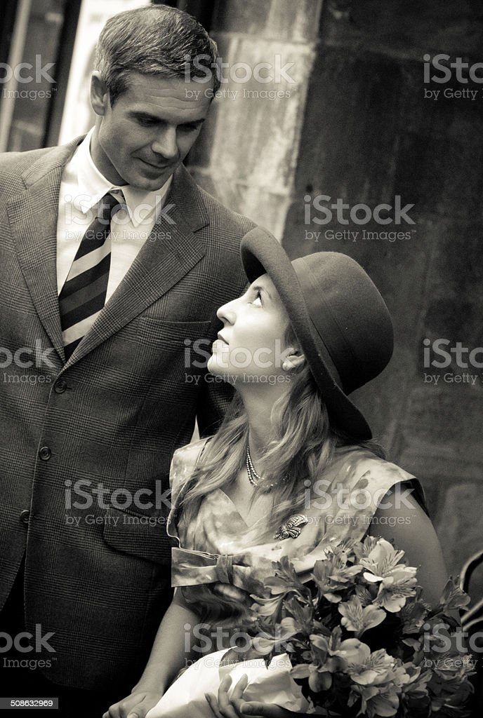 looking with love stock photo