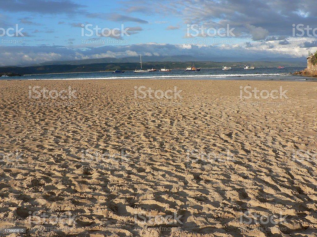 Lookout Beach, Plettenberg Bay royalty-free stock photo