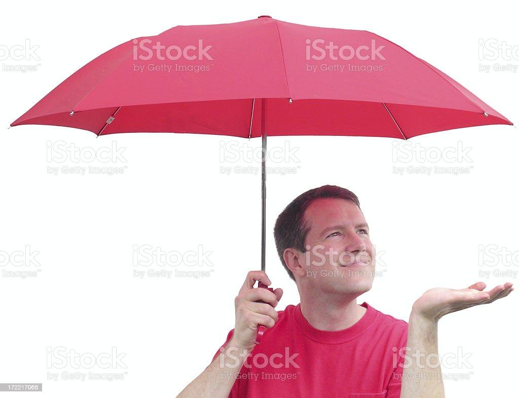 Looks like rain royalty-free stock photo