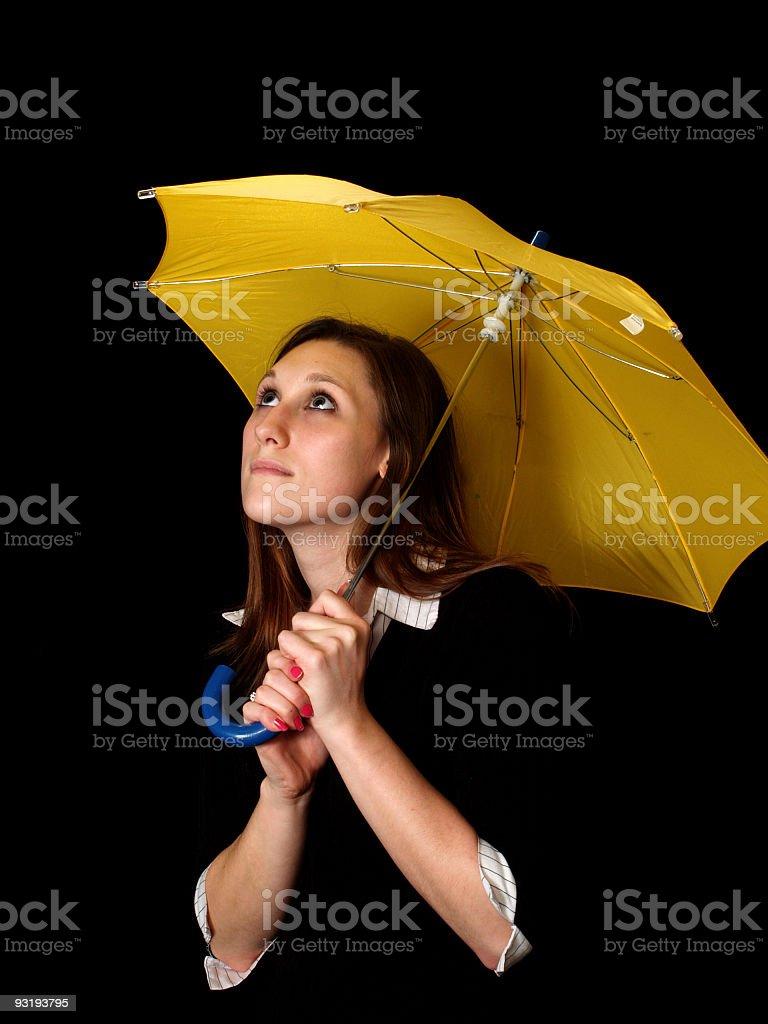 Looks like rain? royalty-free stock photo