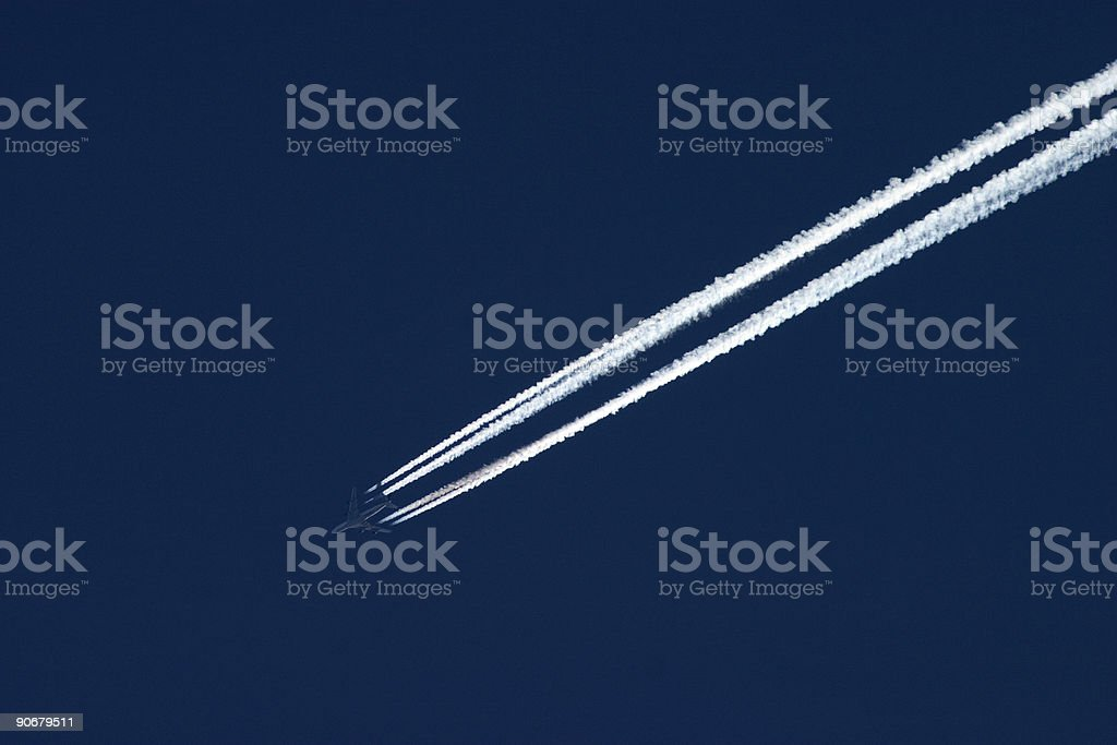 Looks like Smoke royalty-free stock photo