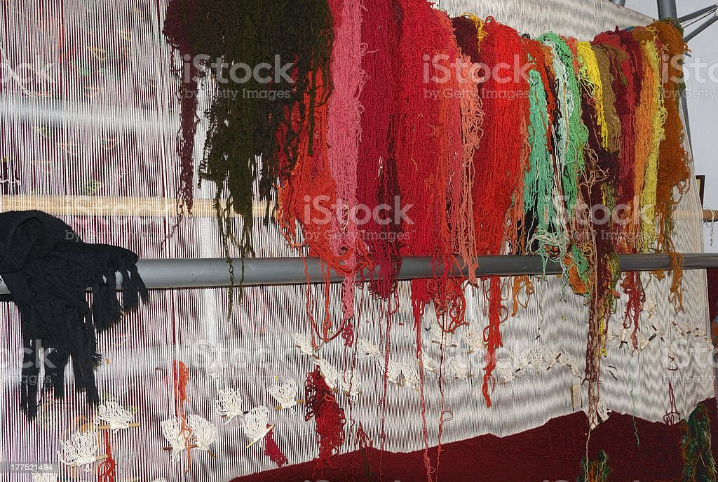 loom in Romania stock photo