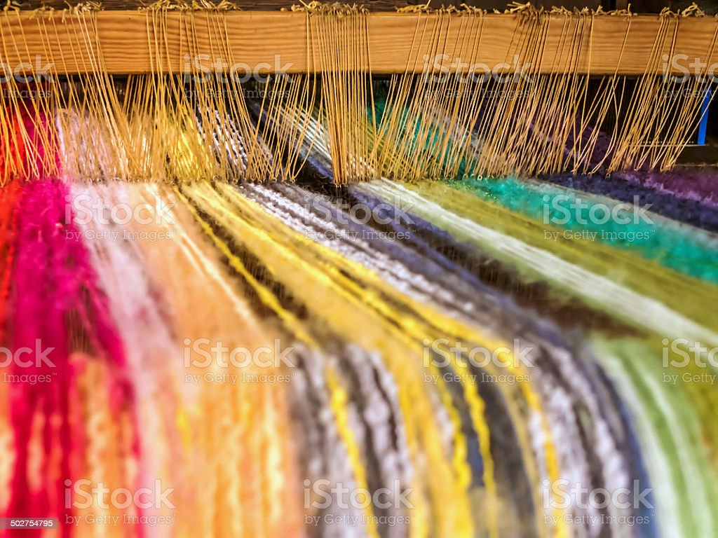 Loom stock photo
