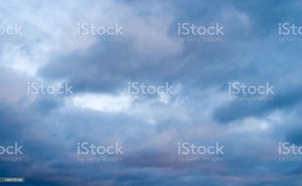 Looming Sky royalty-free stock photo