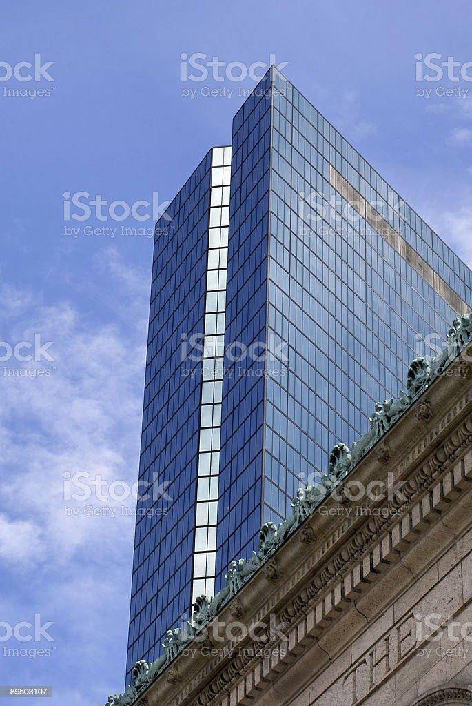 looming skyscraper royalty-free stock photo