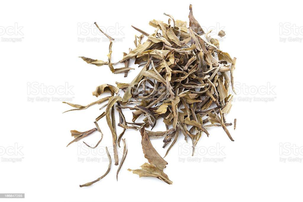 Loose Green Tea royalty-free stock photo