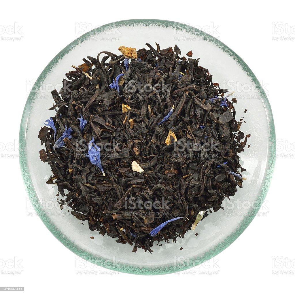 Loose Lady Grey tea - Earl Grey variation. stock photo
