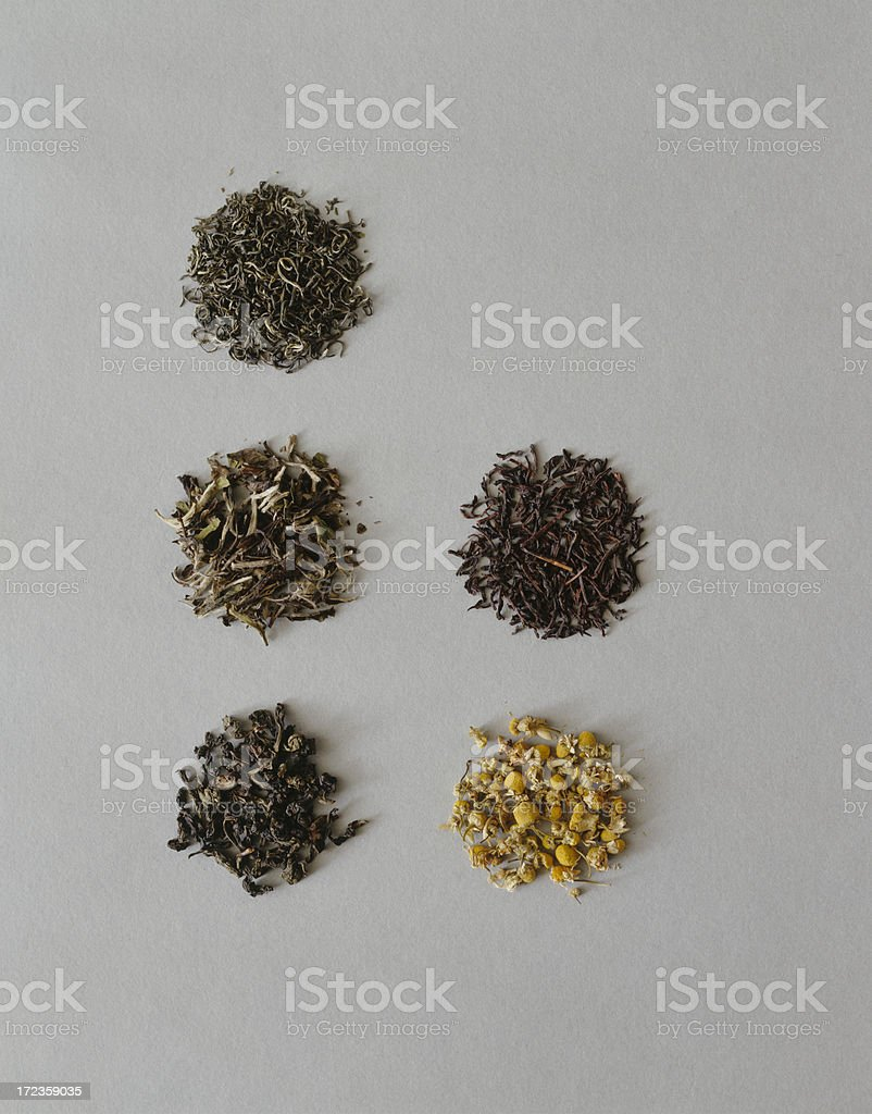 Loose Tea Leaves royalty-free stock photo