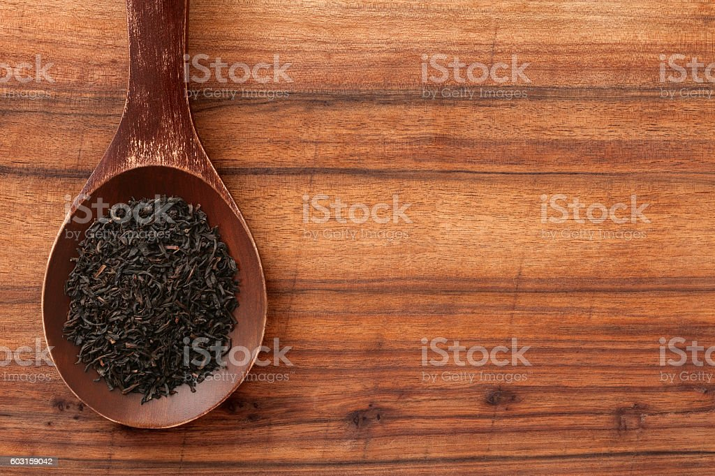 Loose tea stock photo